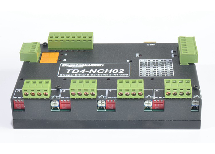 Stepper Driver integrated with the CNC Motion Controller TD4-NCH02